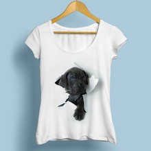 Dog Break Out Funny T-Shirt