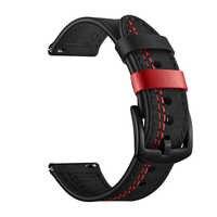 EIMO Galaxy zegarek 46 mm dla Samsung Gear S3 skórzany pasek pasek do zegarka 22mm amazfit bip grt 47mm zegarek huawei GT korea watchband