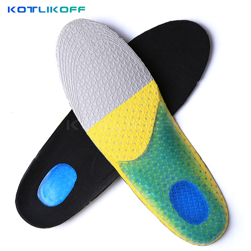 KOTLIKOFF silicone gel insoles psd comfortable shoe insoles shock sole men insoles shoes pad pads inserts insert women massage sxtt silicone gel insoles shoe inserts