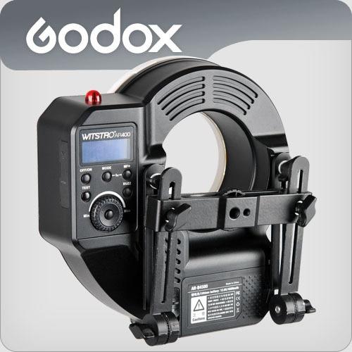 Godox Witstro AR400 400W Bateria Li-jonike HSS 2in1 Unazë Flash - Kamera dhe foto - Foto 6
