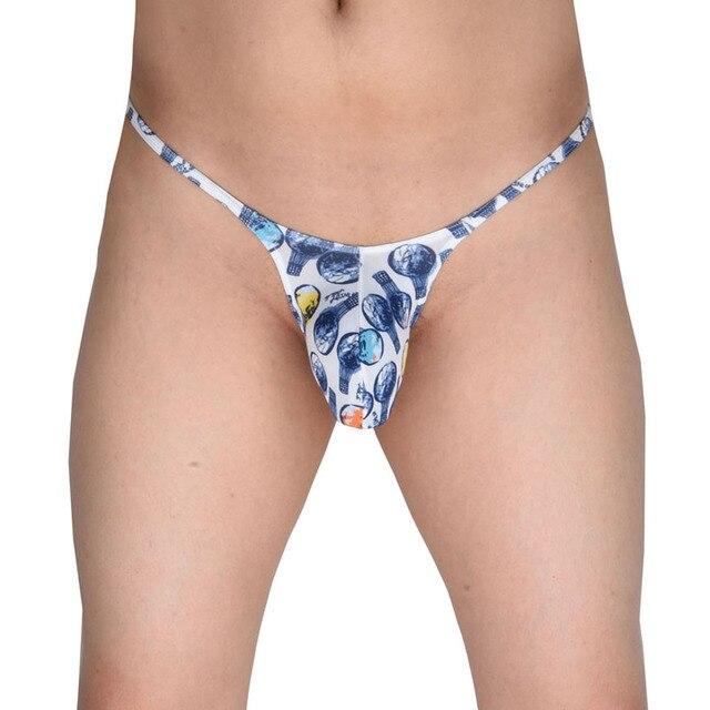 Mens big pouch bikini underwear
