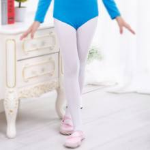0835a8c311e39 Ballet Convertible Tights Girl Pink Velvet Leggings Children Pantyhose  Dance Socks White Legging Gymnastics Collant 2018