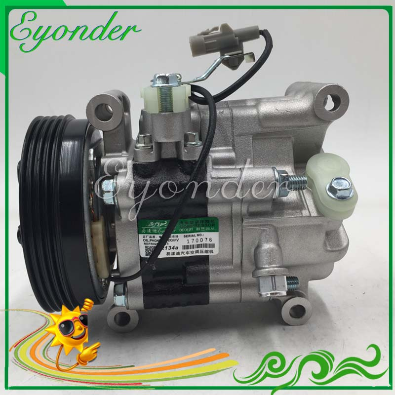 AC A/C Aircon Air Conditioning Compressor Cooling Pump for Suzuki SX4 EY GY 1.5 VVT Saloon GY 1.6 M16A 9520163JA0 9520163JA0 520w cooling capacity fridge compressor r134a suitable for supermaket cooling equipment