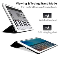 4 5 samsung 4 in 1 Top Quality Stand PU Leather Cover Case for Samsung Galaxy Tab S 10.5 T800 T801 T805 Tablet+Free Screen Protector+OTG+Pen (5)
