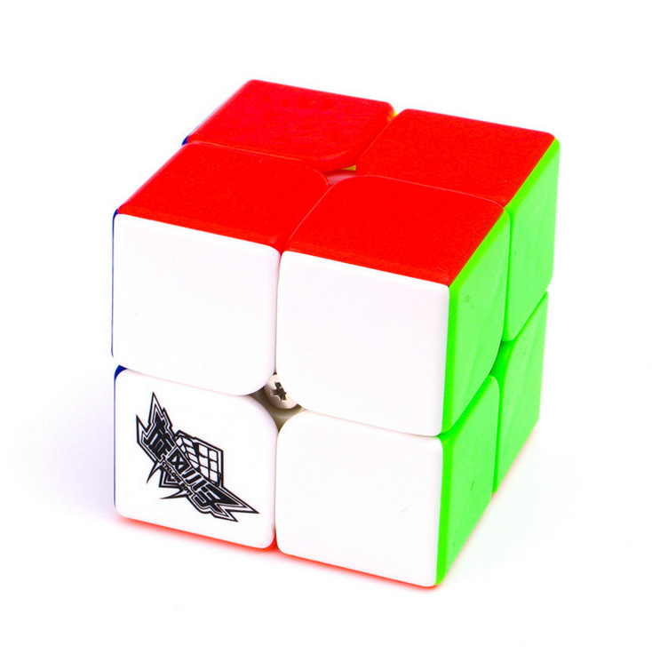 Cyclone Boys 2x2 Magic Cube Pussel Cubes Speed ​​Cubo Square Pussel Gåvor Educational Leksaker för barn