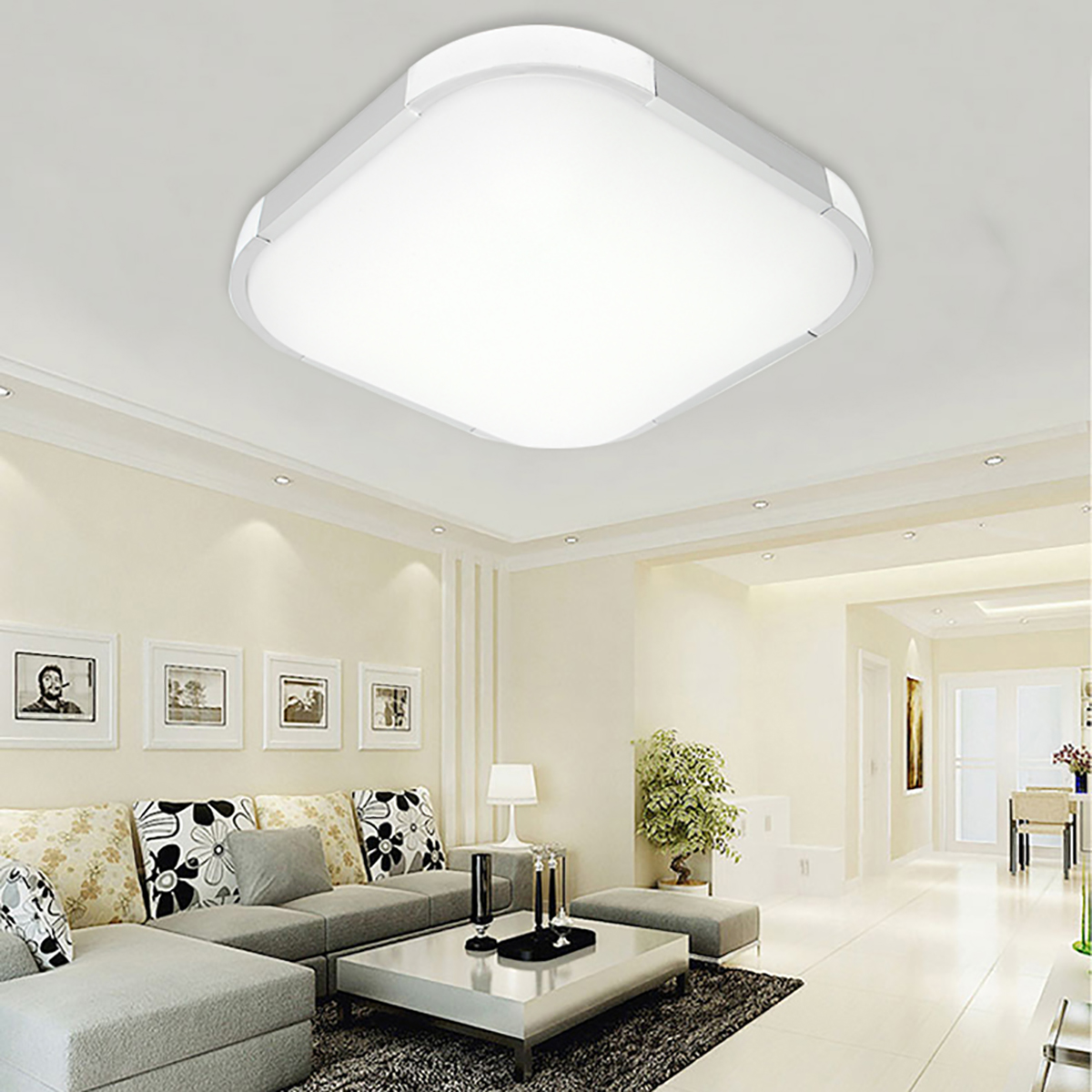 Led dome light night light 12w 18w 24w ceiling lamp universal for led dome light night light 12w 18w 24w ceiling lamp universal for bedroom living room home indoor lighting modern square decor in ceiling lights from lights arubaitofo Images