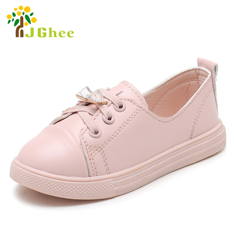2018 Summer Autumn Fashion Girls Shoes Kids Sneakers Children Flat Casual Loafers With Rhinestone Pendant Drop-shipping