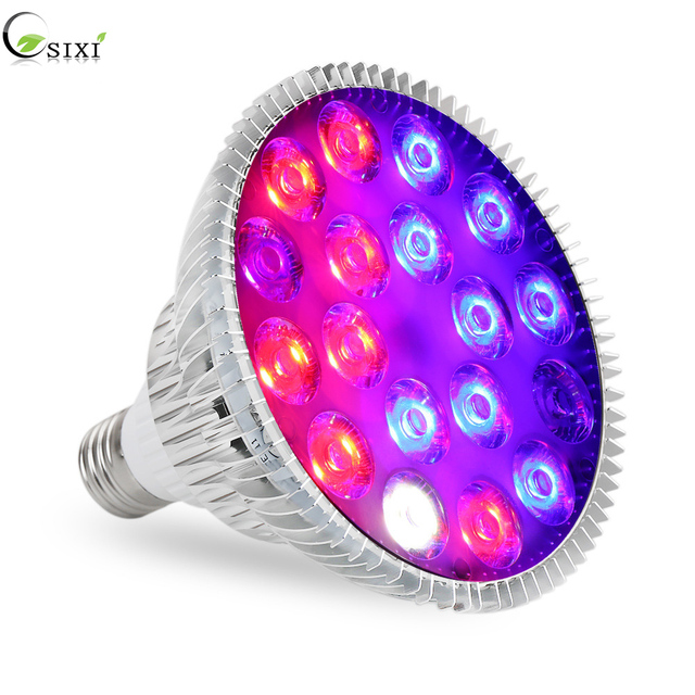 E27 54W LED Grow Plant Light Bulb Full Spectrum Fitolamp Hydroponics Phyto Lamp For Plants Flowers Seedlings indoor Greenhouse