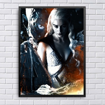"""Game of Thrones"" Art Canvas"