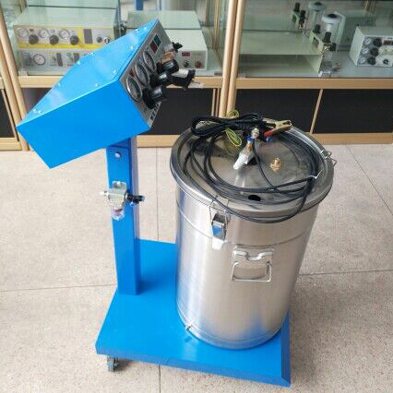 1pc Electrostatic Powder Coating Machine Adjustable Intelligent Spray Machine for Painting WX-958 electrostatic powder coating machine wx 958 electrostatic spray powder coating machine spraying gun paint ac 110v 220v