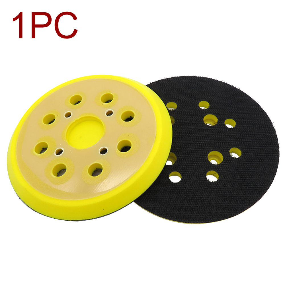 125mm 8 Hole Power Tools Pad Wear Resistance Self Adhesive For Electric Grinder Sanding Disc Plate Woodworking Sandpaper Backing