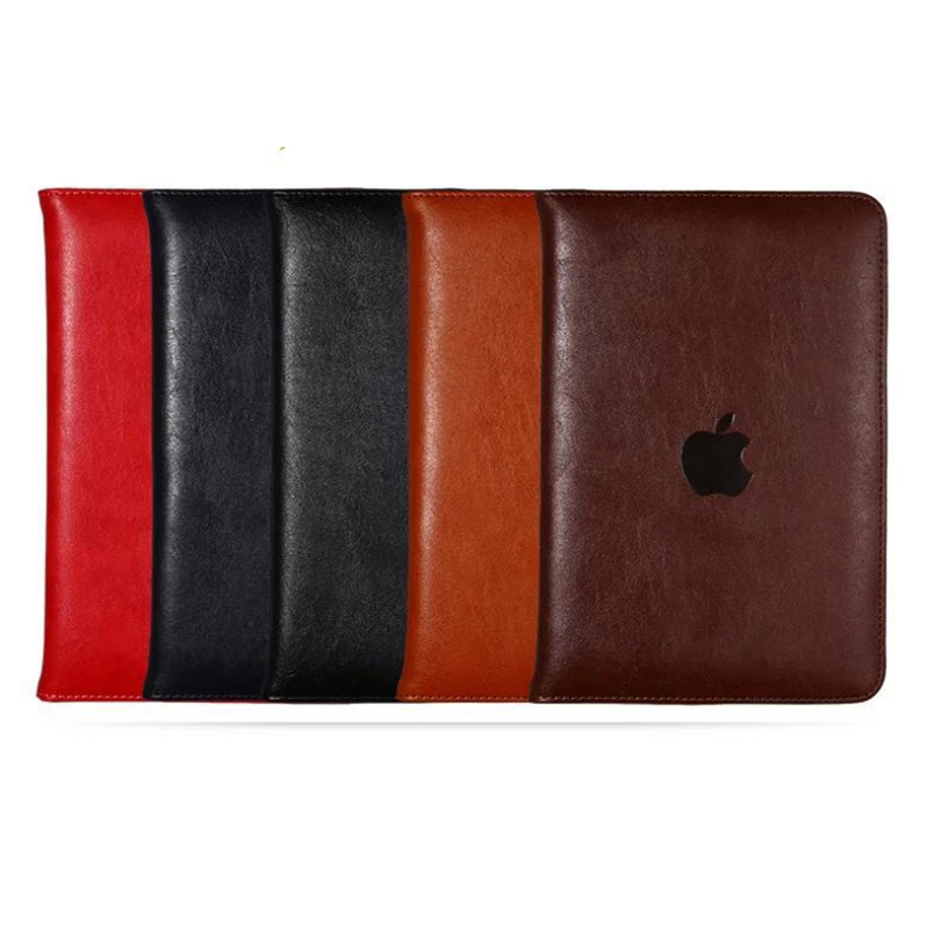 Bracket Card Pocket Cases For Ipad Pro 10.5 9.7 12.9 Business Stand Cover With Automatic Sleep Wake-Up Soft TPU Coque Funda