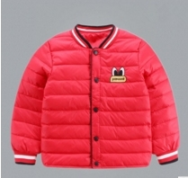 2016 autumn and winter new girls and boys printed down jacket interior core