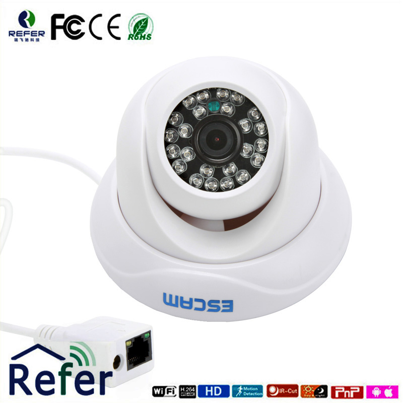 Dome Camera Outdoor QD500 Waterproof Mini Cctv Ip Camera New P2P Onvif Wifi Camera For Baby Monitor Support Night Vision HD 720P wistino cctv camera metal housing outdoor use waterproof bullet casing for ip camera hot sale white color cover case