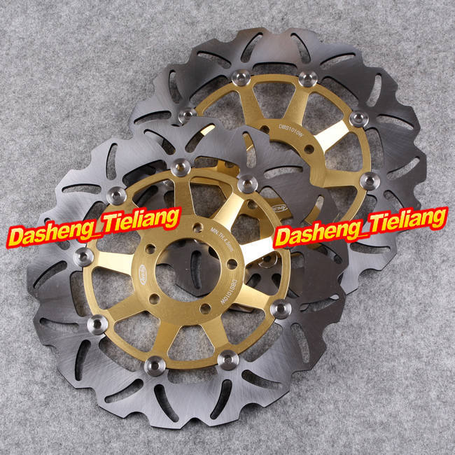 Front Brake Disc Rotors For Suzuki GS 400 GS E 500 GSF BANDIT 250 400 GSX 1200 Gold, Motorcycle Spare Parts & Accessories