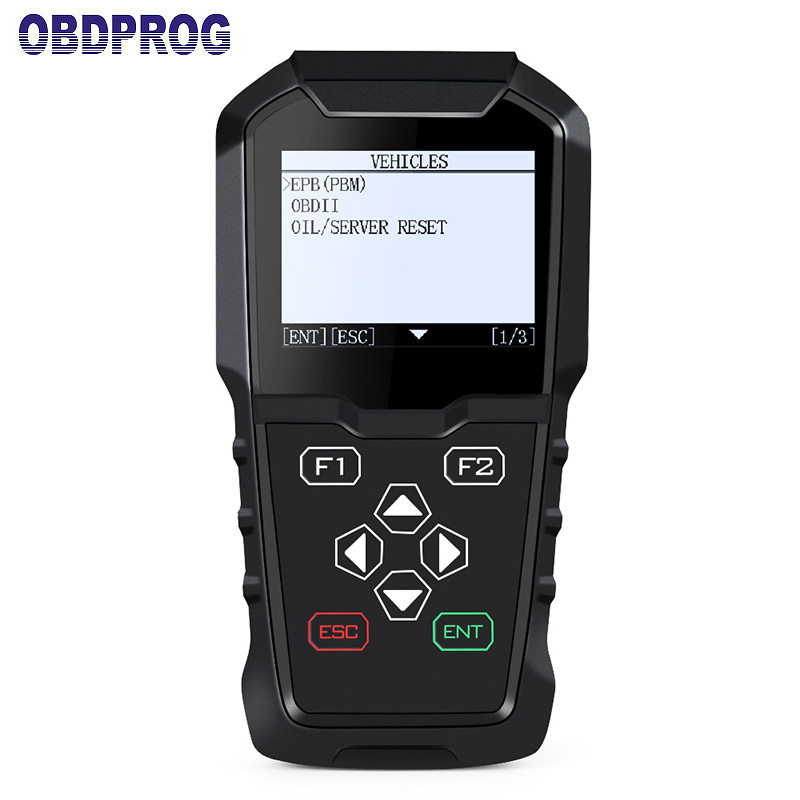 Automotive Scanner OBDII Engine Diagnosic Tool Support EPB/OLS/Oil Service Light Reset with English for AUDI Kia OBDPROG MT201 lacywear s 12 ols