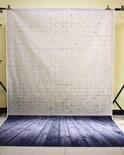 150 × 210 センチメートル写真スタジオグリーンスクリーンクロマキー背景ポリエステル写真の背景スタジオダークレンガ YU034
