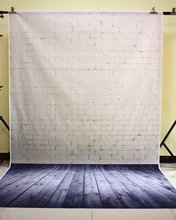 150X210 CM Fotografie studio Green Screen Chroma key Hintergrund Polyester Hintergrund für Foto Studio Dark Ziegel YU034