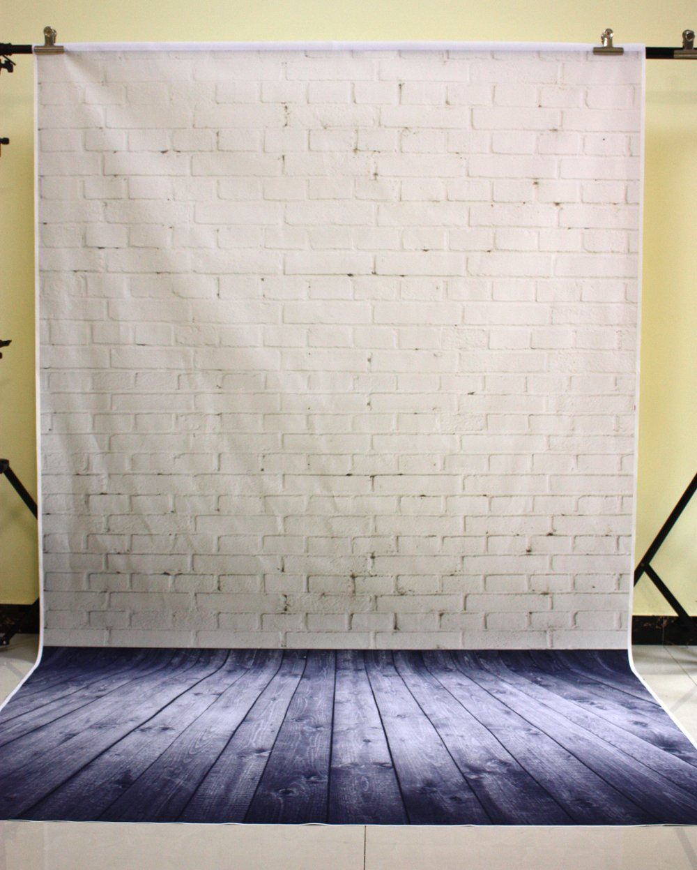 Image 1 - 150X210CM Photography studio Green Screen Chroma key Background Polyester Backdrop for Photo Studio Dark Brick YU034-in Background from Consumer Electronics