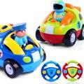 Carros dos desenhos animados Controle Remoto Playmobile Po Mini-piolhos Com Música E luzes Electic RC Car Brinquedos Para Crianças Boneca Robô Para crianças