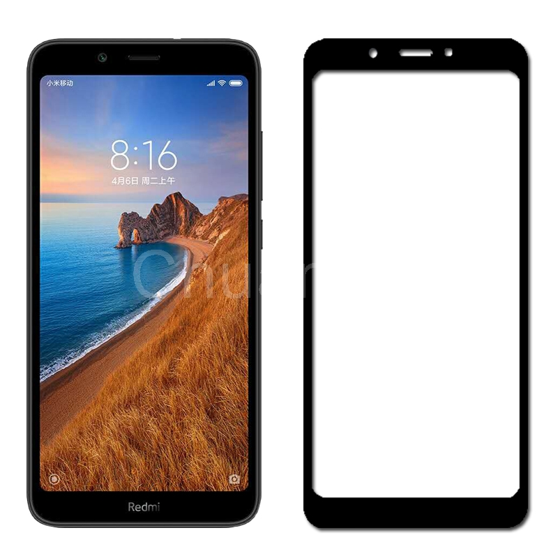 Image 3 - 25 Pcs/Lot Full Coverage Screen Protectors For Xiaomi Redmi 7A Scratch Proof Protective Film Tempered Glass For Xiaomi Redmi 7A-in Phone Screen Protectors from Cellphones & Telecommunications