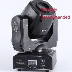 60w led spot moving head licht led 60w yoke licht led mini dmx gobo moving head spot licht party konzert dj ausrüstung