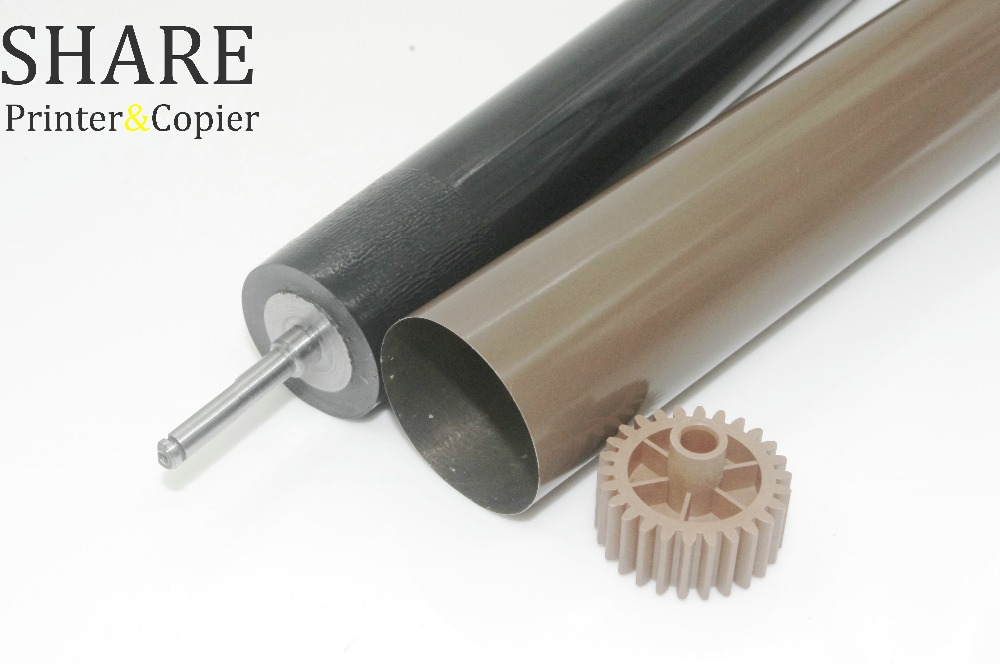 1 Set NEW Fuser Film + NEW Fuser Pressure Roller For Brother HL-5440 5445 5450 6180 MFC-8510 8520 8710 8810 8910