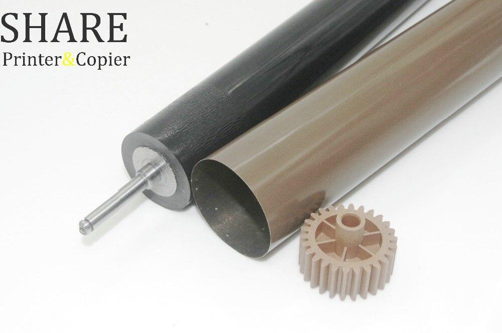 1 set nueva película de fusor + nuevo rodillo de presión del fusor para Hermano HL-5440 5445, 5450 de 6180 MFC-8510 8520, 8710, 8810, 8910