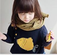 Chàng trai cô gái hoodies áo trẻ em trẻ em mùa đông lange capuchon kinderen bobo cá Dày áo len
