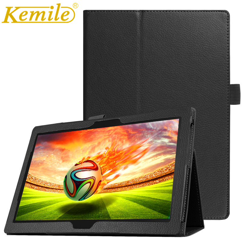 Kemile Case For Huawei MediaPad T3 10 AGS-L09 AGS-L03 9.6 for Honor Play Pad 2 9.6Tablet Slim Smart Leather Case Stand Cover textured padded bikini