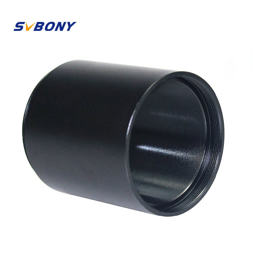 SVBONY Extension Tube T2 Extension Ring 45mm M42x0.75 On Both Side Astronomical For Astronomical Photography Fully Aluminum