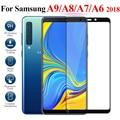 2 шт. Защитное стекло для Samsung galaxy a9 a8 a7 a6 plus 2018 закаленное стекло tremp a9200 a750 a 9 8 6 Защитная пленка для экрана