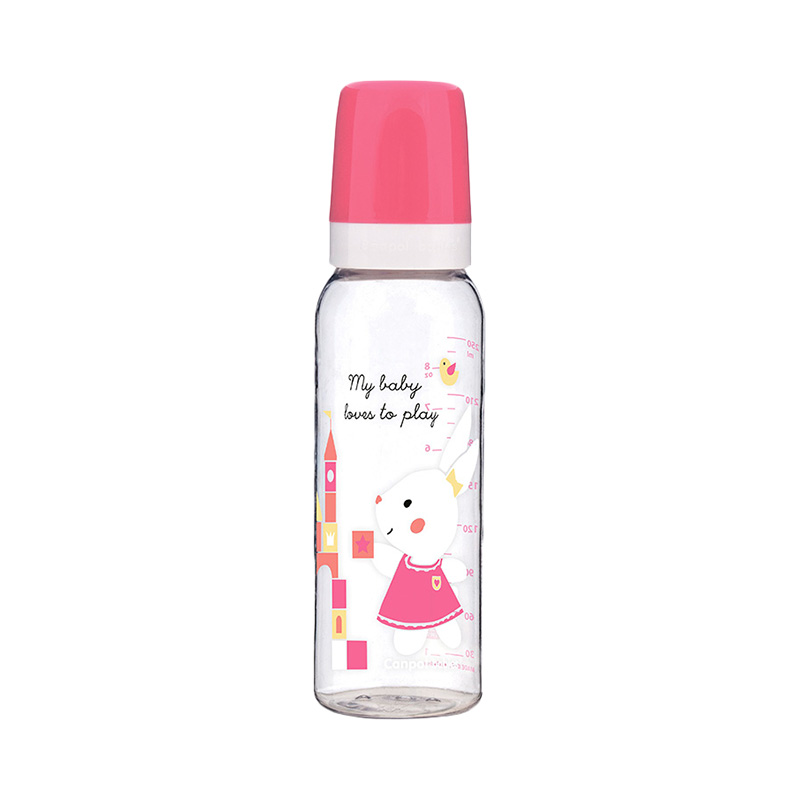 Bottle Tritan (BPA 0%) silicone nipple, 250 ml, Color pink, 12+ Sweet fun feedkid coat color pink