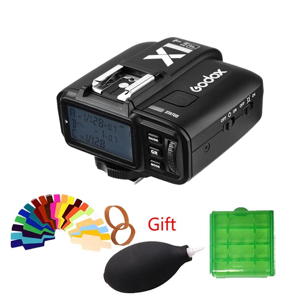 Original GODOX X1T C N S F O TTL 2 4G Wireless LCD Flash Trigger 1