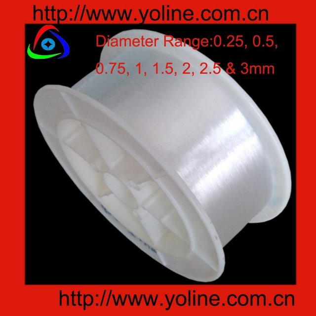 YO-DC750 0.75mm 2700meter/roll end glow fiber,suitable for ceiling,chandelier