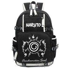 NARUTO Backpack Sharingan Luminous Canvas Bag ( 10 styles)
