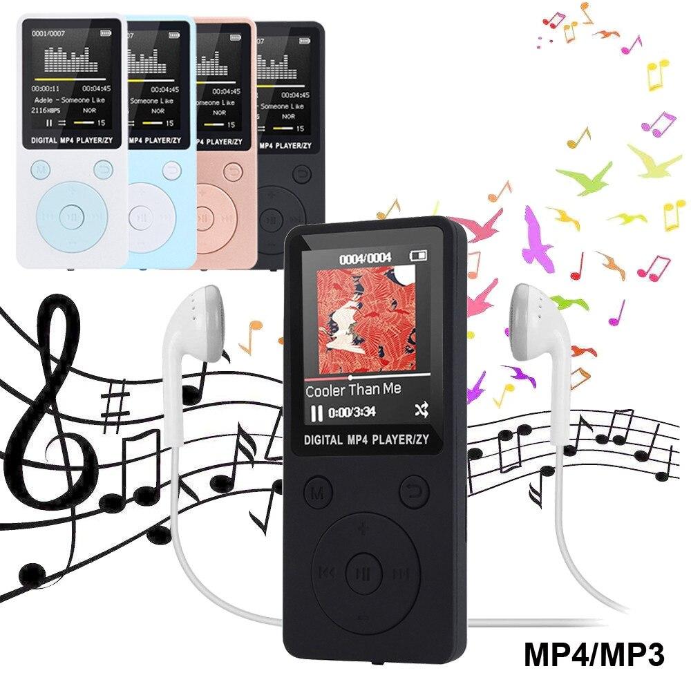 Unterhaltungselektronik 2018 Mode Tragbare Mp3 Mp4 Player Lcd Screen Fm Radio Video Games Film Nicht-slip Fühlen Neue Einfache Amv Tft Display 1,8-zoll Kaufe Jetzt