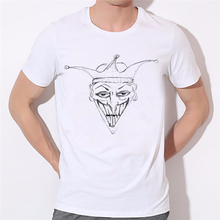 Men Killer Klowns From Outer Space Joker Face Printed T Shirts New Fashion 3d Tshirts Funny Unique Cool Summer Tee Shirts 32-19#