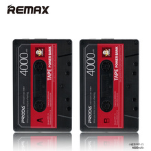 Remax Magnetic Tape mobile Power Bank USB External Batteria Charging Pover Bank for Samsung Huawei Tablet 2A Portable Powerbanks