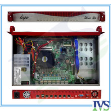 Высококлассные Аль передней панели 1U 6 GbE LAN маршрутизатор сервер/сервер брандмауэр viop системы