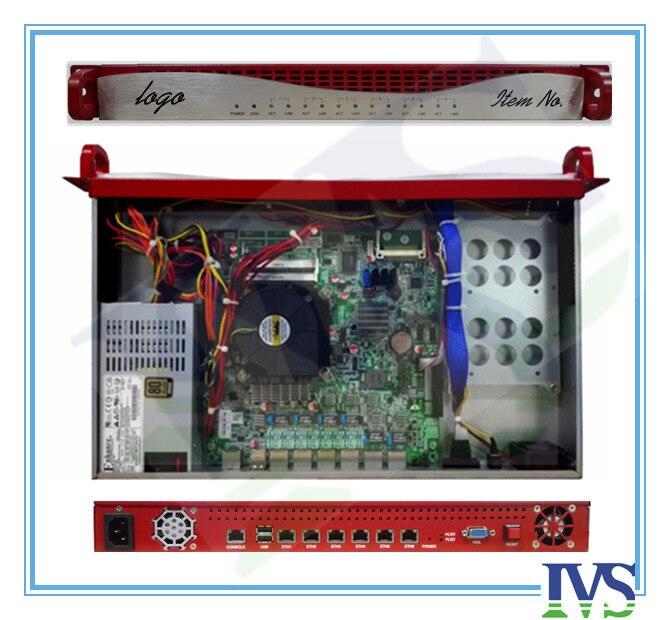 Upscale Al Front-panel 1U 6 GbE Lans Router Server / Firewall Server VIOP System