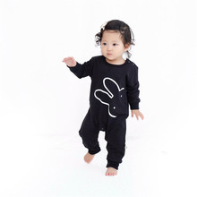 2016 Winter Baby Girl Big Eyes Printed Costume Jumpsuits Boy Bib Overall Clothes Infantil Romper Newborn Coveralls Next Rompers