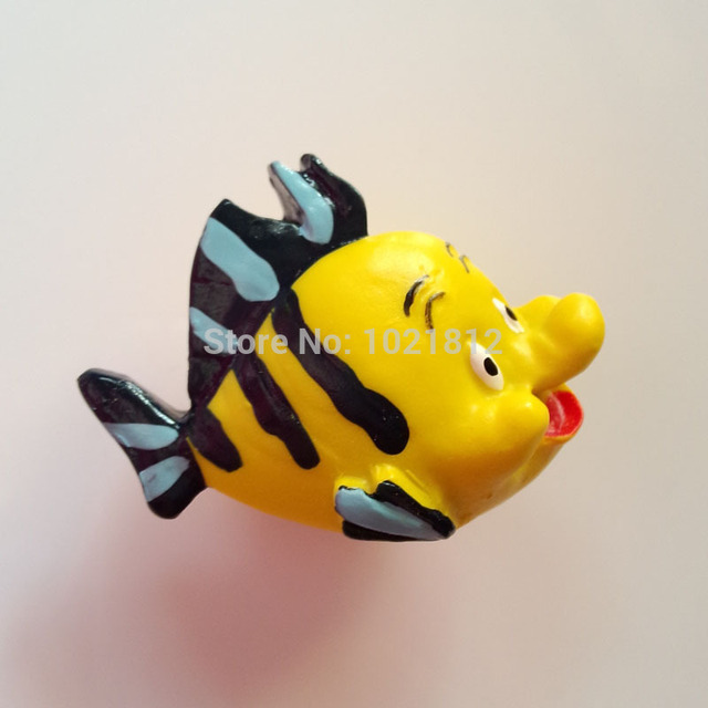 Fish Creative Resin Handmade Cartoon Cabinet Cupboard Closet Dresser Handle Pulls Children S Room