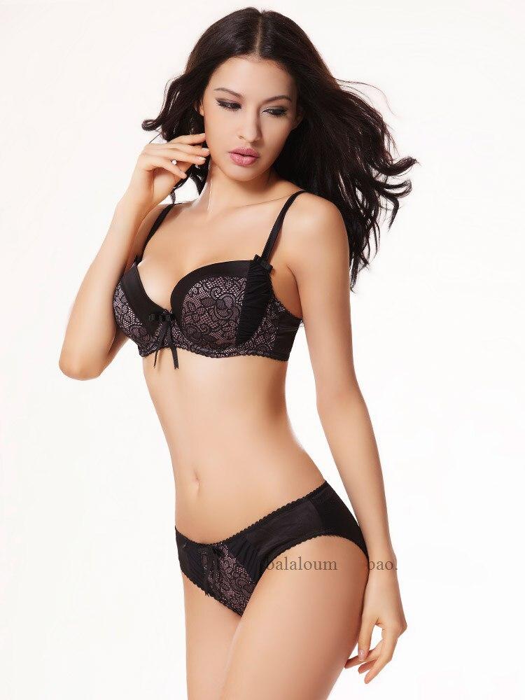 6ed2a35a1 Balaloum Women Lingerie Plus Size Sexy Push Up Bra Set Fashion Large ...