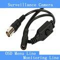 Камеры видеонаблюдения белый/черный/серый OSD меню BNC + DC линейный выключатель хвосты
