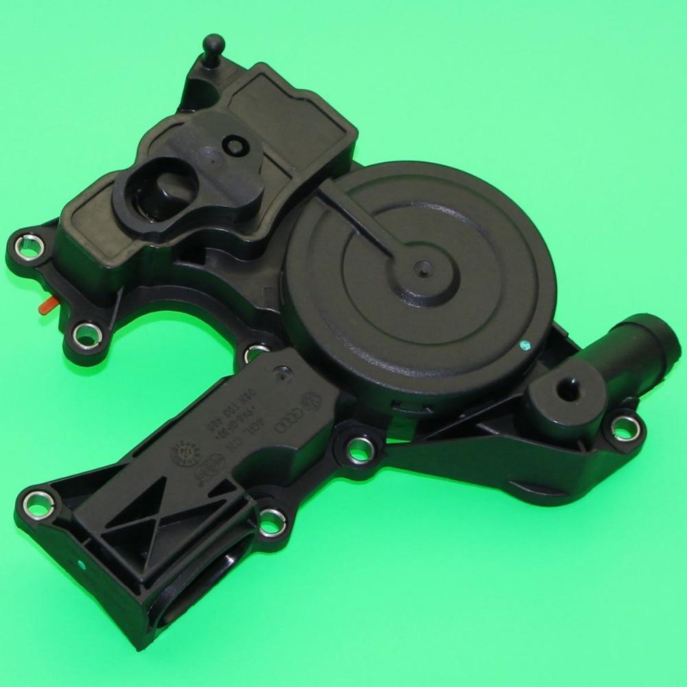 ФОТО High Quality OEM 1pcs Oil Separator PCV Valve Assembly For A3 A4 A5 TT VW Golf GTI Jetta 06H 103 495 06H103495 06H-103-495
