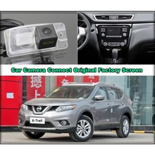 For Nissan X-Trail 2013 2014 2015 Car Camera Connected Original Screen Monitor and Rearview Backup Camera Original car screen