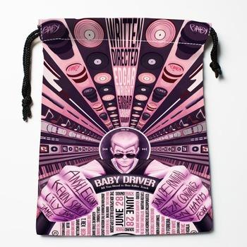 Nowe niestandardowe torby dla niemowląt torby ze sznurkiem niestandardowe torby do przechowywania przechowywanie drukowane torby na prezenty więcej rozmiarów 18*22cm torby kompresyjne tanie i dobre opinie HEARMNY Poliester WOMEN Mu90 Drawstring Bags storage bags bag for toys bag flamingo bag storage Open Pocket