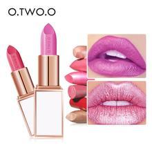 Matte Smooth Lipsticks Cosmetics Pigments Waterproof Long La