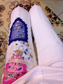 High Quality Cotton Jeans Women Lace Diamonds White Hole Jeans European Style